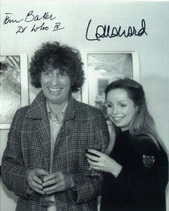Tom Baker, Lalla Ward -  Multi signed original autograph not a copy 10277